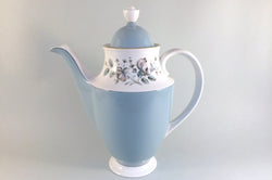 Royal Doulton - Rose Elegans - Coffee Pot - 2pt - The China Village