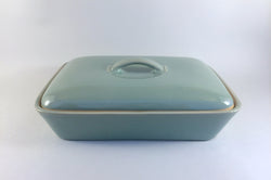 "Denby - Manor Green - Serving Dish - 11 x 8"" (Divided) - The China Village"