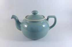 Denby - Manor Green - Teapot - 1 3/4pt - The China Village