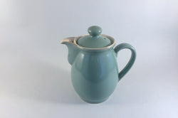 Denby - Manor Green - Coffee Pot - 1pt (Barrel Shape) - The China Village