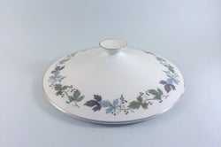 Royal Doulton - Burgundy - Vegetable Tureen (Lid Only) - The China Village