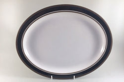 "Hornsea - Contrast - Oval Platter - 13 3/4"" - The China Village"