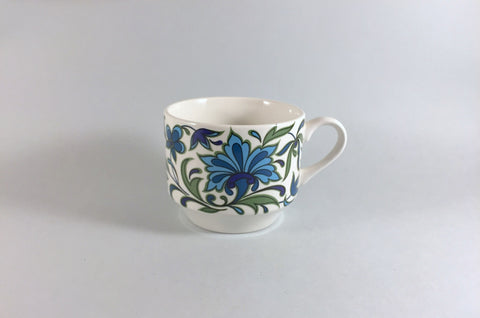 "Midwinter - Spanish Garden - Breakfast Cup - 3 1/2"" x 2 3/4"""