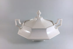 Johnsons - Heritage White - Vegetable Tureen - The China Village
