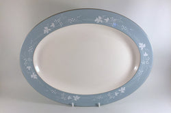 "Royal Doulton - Reflection - Oval Platter - 16"" - The China Village"