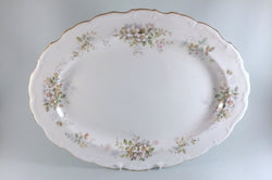 "Royal Albert - Haworth - Oval Platter - 16 1/4"" - The China Village"