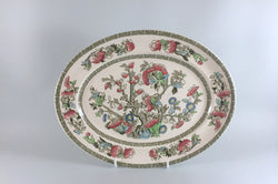 "Johnsons - Indian Tree - Oval Platter - 11 1/8"" - The China Village"