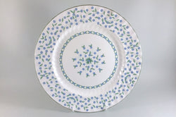 "Aynsley - Forget Me Not - Dinner Plate - 10 5/8"" - The China Village"