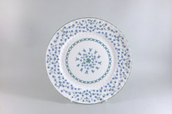 "Aynsley - Forget Me Not - Starter Plate - 8 1/4"" - The China Village"