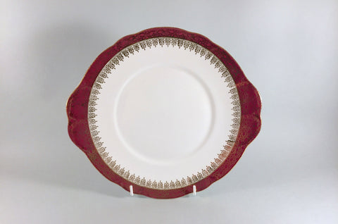 "Duchess - Winchester - Burgundy - Bread & Butter Plate - 10"" - The China Village"