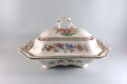 Spode - Chinese Rose - New Backstamp - Vegetable Tureen - The China Village