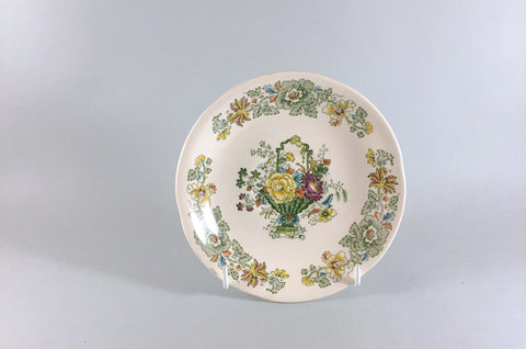 "Mason's - Strathmore - Green & Yellow - Tea Saucer - 5 3/4"" - The China Village"
