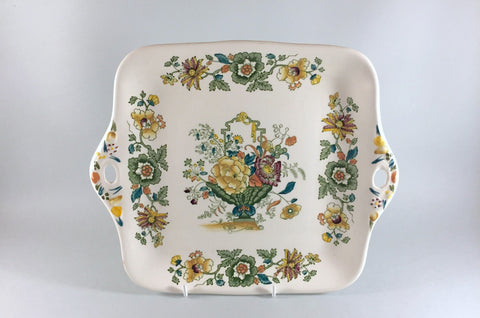 "Mason's - Strathmore - Green & Yellow - Bread & Butter Plate - 11"" - The China Village"