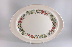 "Wedgwood - Box Hill - Oval Platter - 12 7/8"" - The China Village"