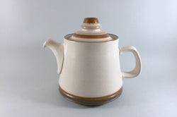 Denby - Potters Wheel - Tan Centre - Teapot - 2 1/4pt - The China Village