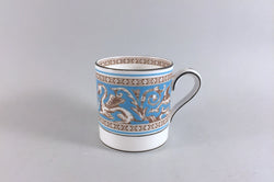 "Wedgwood - Florentine - Turquoise - Coffee Can - 2 1/4"" x 2 1/4"" - The China Village"