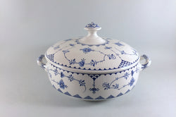Mason's - Denmark - Blue - Vegetable Tureen - The China Village