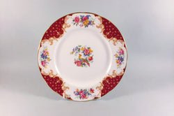 "Paragon - Rockingham - Red - Starter Plate - 8"" - The China Village"