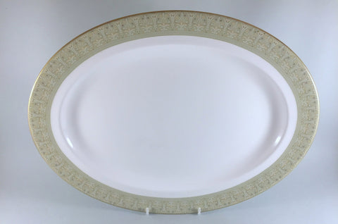 "Royal Doulton - Sonnet - Oval Platter - 16"" - The China Village"