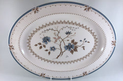 "Royal Doulton - Old Colony - Oval Platter - 16"" - The China Village"