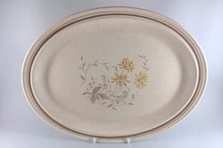 "Royal Doulton - Sandsprite - Thick Line - Oval Platter - 16 1/4"" - The China Village"