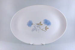 "Wedgwood - Ice Rose - Oval Platter - 13 3/4"" - The China Village"