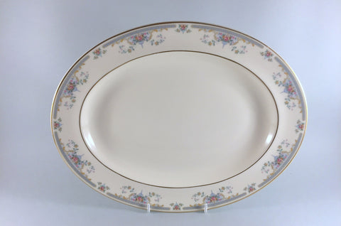 "Royal Doulton - Juliet - Oval Platter - 13 5/8"" - The China Village"