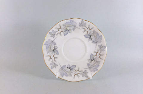 "Royal Albert - Silver Maple - Breakfast Cup Saucer - 6 3/8"" - The China Village"