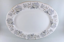 "Royal Albert - Silver Maple - Oval Platter - 15 1/4"" - The China Village"