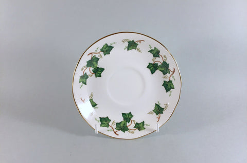"Colclough - Ivy Leaf - Breakfast / Soup Cup Saucer - 5 7/8"" - The China Village"