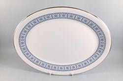 "Royal Doulton - Counterpoint - Oval Platter - 13 1/2"" - The China Village"