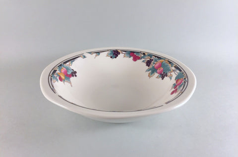 "Royal Doulton - Autumn's Glory - Rimmed Bowl - 7 3/4"" - The China Village"