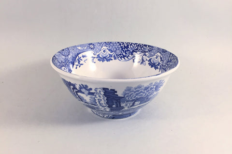 "Spode - Italian - Blue (New Backstamp) - Rice/Noodle Bowl - 5 1/2"" - The China Village"