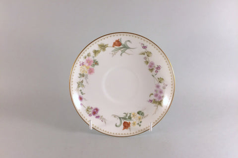 "Wedgwood - Mirabelle - Tea Saucer - 5 3/4"" - The China Village"