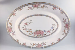 "Royal Doulton - Canton - Oval Platter - 16 1/2"" - The China Village"