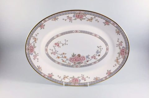 "Royal Doulton - Canton - Oval Platter - 13 1/2"" - The China Village"