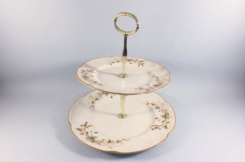 Marks & Spencer - Harvest - Cake Stand - 2 Tier