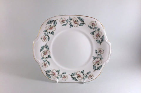 "Crown Staffordshire - Christmas Roses - Bread & Butter Plate - 9 3/8"" - The China Village"
