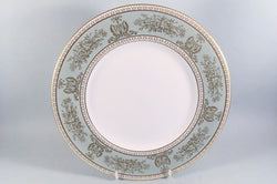 "Wedgwood - Columbia - Sage Green & Gold - Dinner Plate - 10 3/4"" - The China Village"