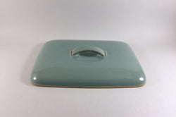 "Denby - Manor Green - Lidded Serving Dish - Lid Only - 11"" x 8"" - The China Village"