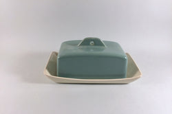 Denby - Manor Green - Butter Dish & Lid - The China Village
