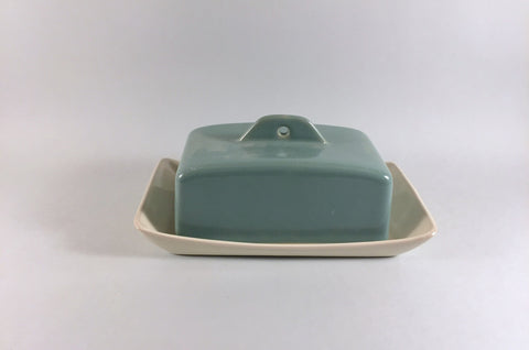 Denby - Manor Green - Butter Dish & Lid