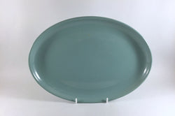 "Denby - Manor Green - Oval Platter - 12 1/2"" - The China Village"