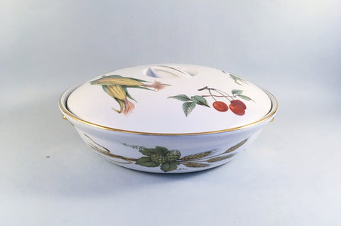 Royal Worcester - Evesham - Gold Edge - Casserole Dish - 2pt - The China Village