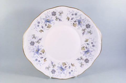 "Colclough - Rhapsody In Blue - Bread & Butter Plate - 10 1/4"" - The China Village"