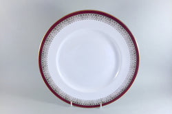 "Royal Grafton - Majestic - Red - Dinner Plate - 10 7/8"" - The China Village"