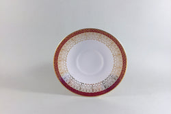 "Royal Grafton - Majestic - Red - Coffee Saucer - 5 1/8"" - The China Village"