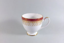 "Royal Grafton - Majestic - Red - Coffee Cup - 3 x 2 3/4"" - The China Village"