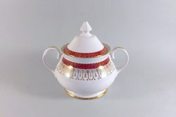 Royal Grafton - Majestic - Red - Sugar Bowl - Lidded - The China Village