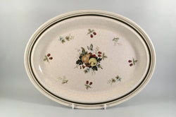 "Royal Doulton - Cornwall - Thick Line - Oval Platter - 13 1/2"" - The China Village"